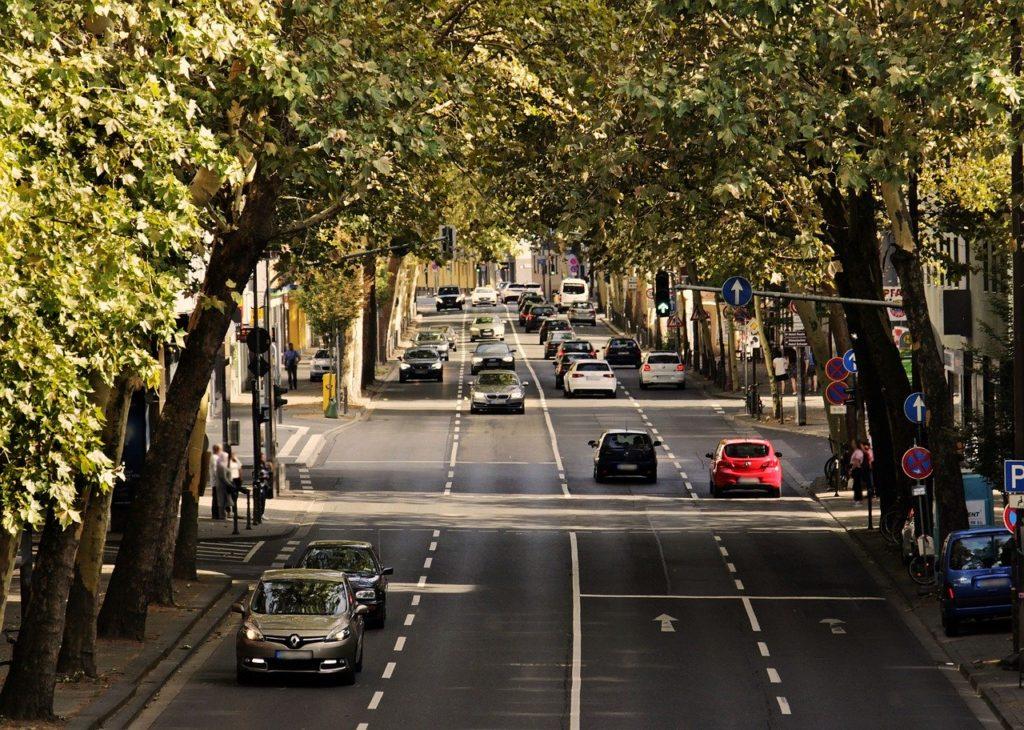samochodem po hiszpanii