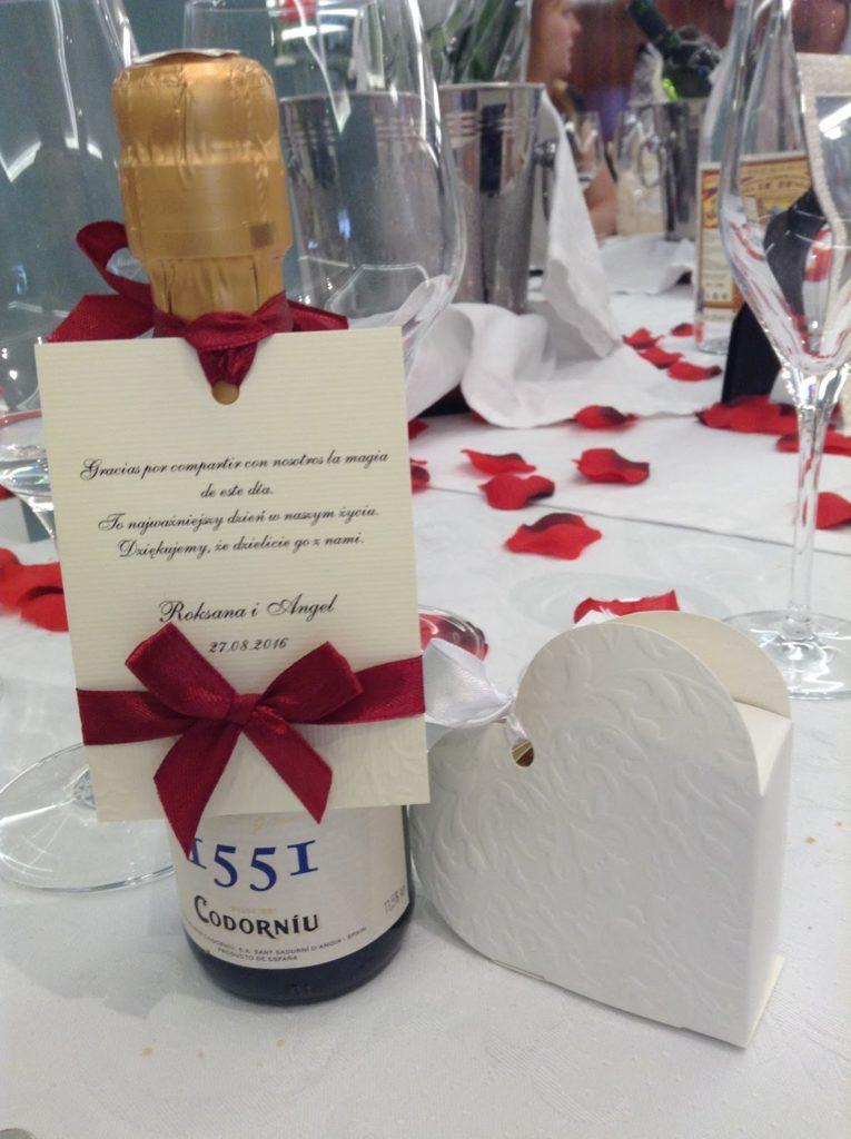 upominki weselne dla gosci